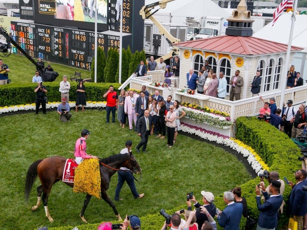 Riderless Horse Runs Preakness Stakes 2019 Race