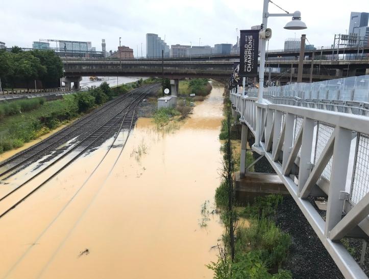 Downtown Baltimore Flooding: Avoid Howard Street | Baltimore