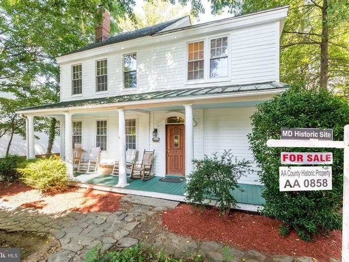 Homes Tied To Founding Of Maryland Town, Village For Sale