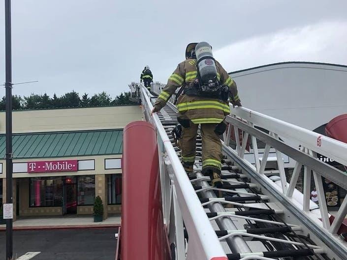 Gas Leak Draws Crews To Bel Air Town Center