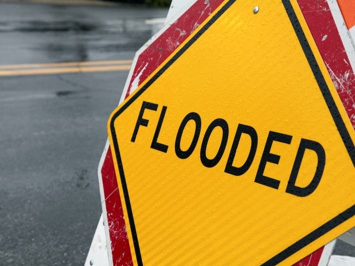 High Water Closes Parts Of US 40, US 1 in Harford County Friday