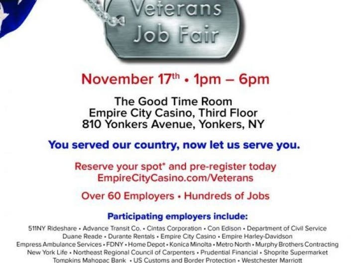 Hire a Rye Hero: Veterans Job Fair Nov  17 | Rye, NY Patch