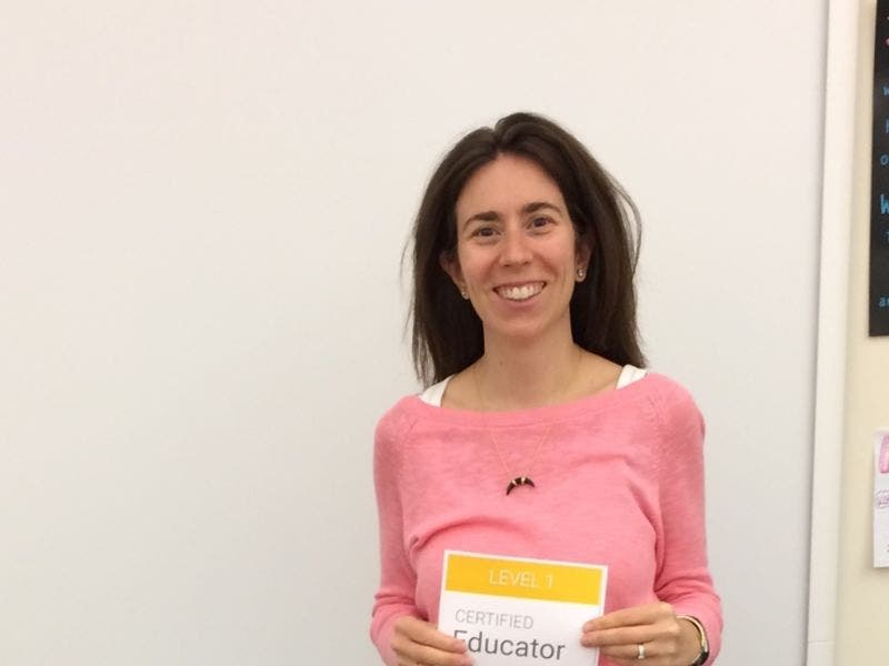 Irvington School District Educator Earns Google Educator