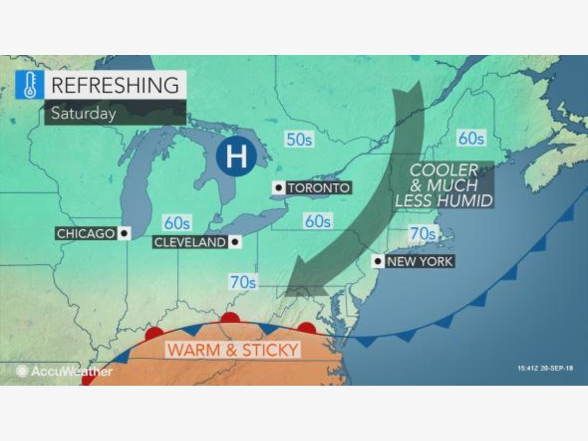 Harrison's Weather For First Weekend Of Fall 2018 | Harrison, NY Patch