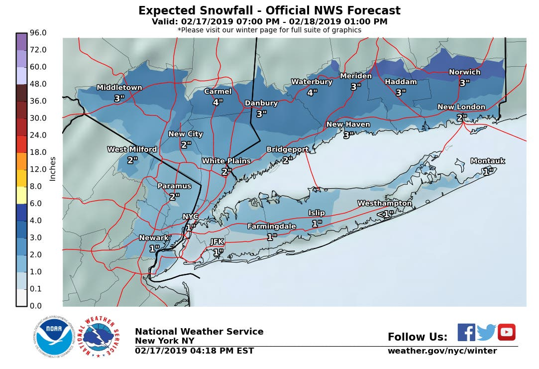Hudson Valley Snow: Winter Weather Advisories Issued