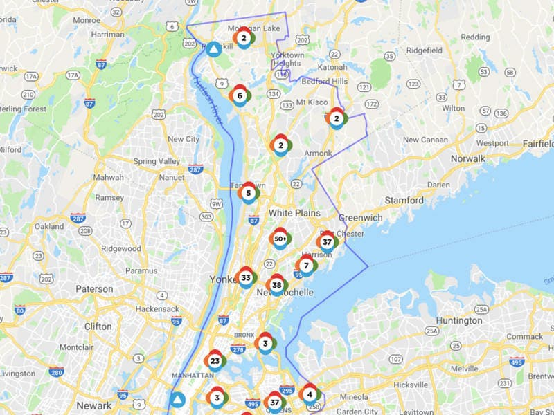 Con Edison Outage Map Report An Outage 2020 08 11