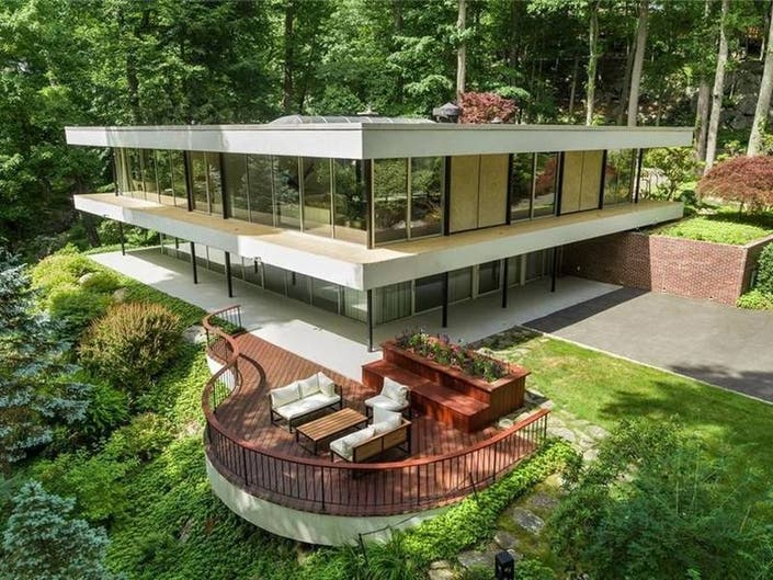 Truly Unique Mid-Century Modern In Westchester