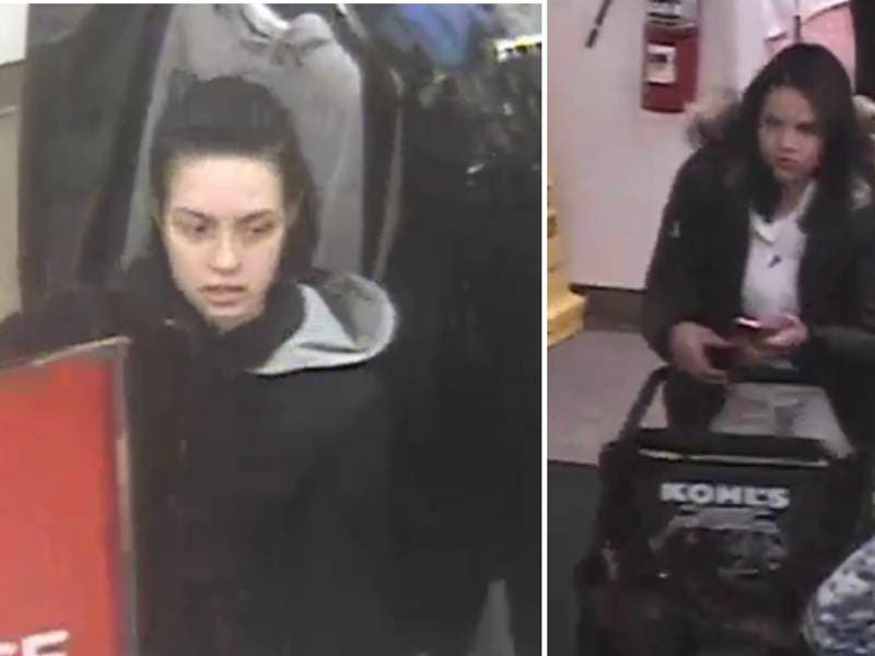 Duo Stole $900 in Clothes From Kohls: Police