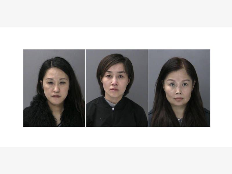 3 Women Arrested During Massage Parlor Raid