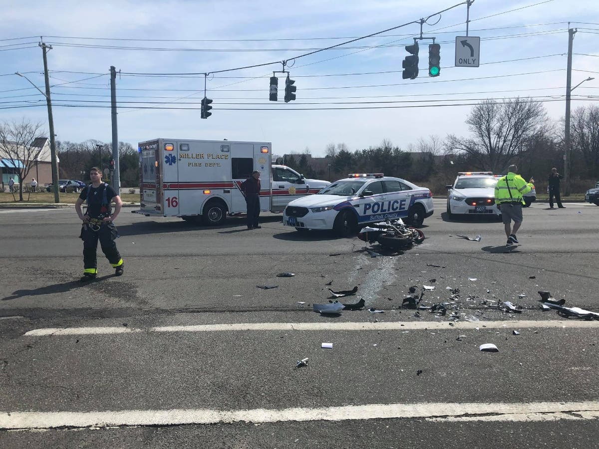 Police ID Motorcyclist Seriously Injured in Miller Place