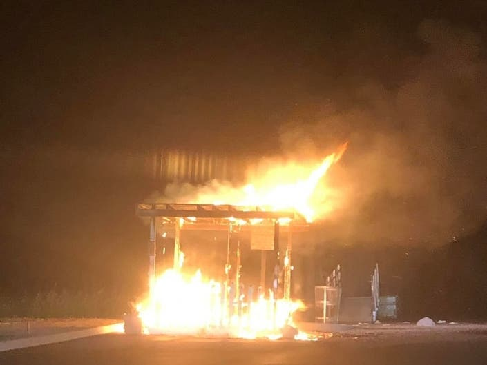 Suspicious Nassau Fire Destroys Paddle Board Business Hut