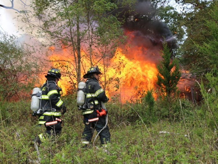 Fire Rips Through Abandoned Long Island Building: Patch PM