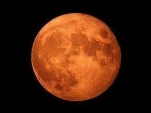 Orange Hunters Moon To Rise Over Long Island Sunday