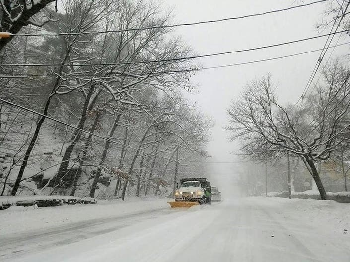 Weather Whiplash: 60 Degrees, Then Accumulating Snow On LI