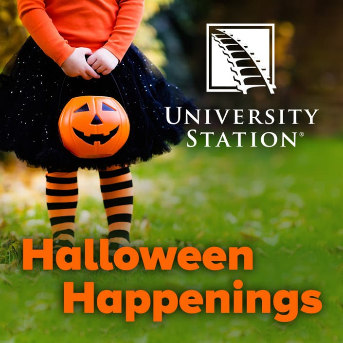 University Station Announces Halloween Happenings