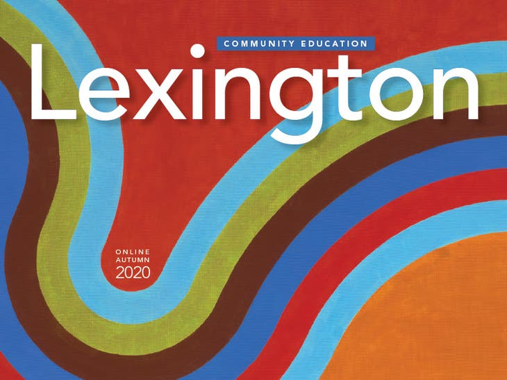 Lexington Community Education Online Autumn Term