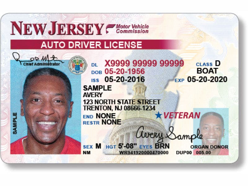 new jersey could make a significant change to driver's licenses