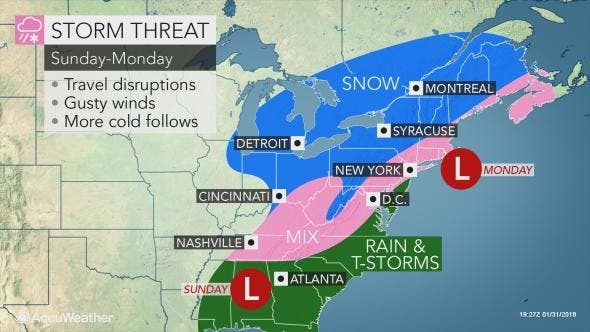 Nyc Weather Forecast Snow Rain Expected As Storm Takes Aim New