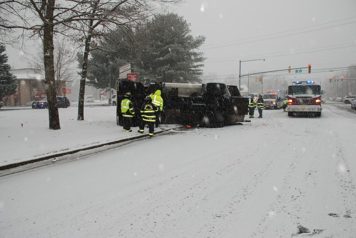 Crashes Make Mess Of NJ Roads, Snow Totals Rise As Storm Hits | Toms