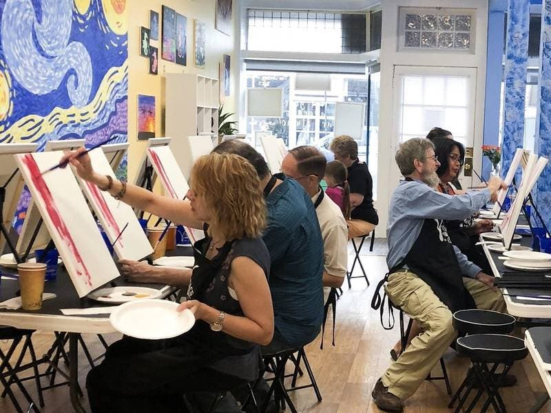 New Business Offers Painting And Partying In Point Pleasant Beach