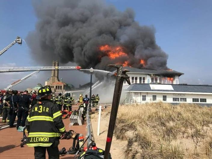 Firefighters Take Heat For Posing As Ocean Grove Fire Raged