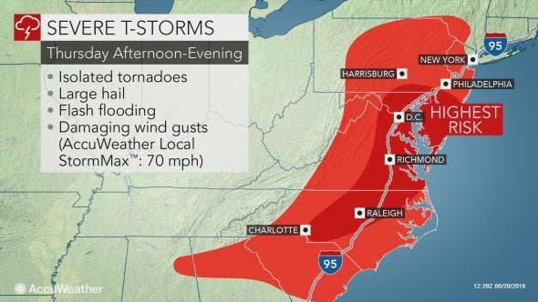 Month's Worth Of Rain Fell In 3 Hours, More Storms On Way