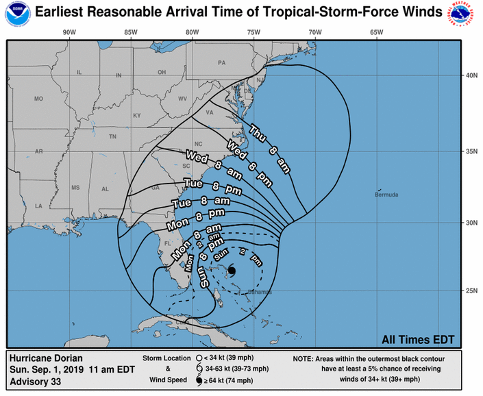 Hurricane Dorian Turns North: What Does This Mean For NJ