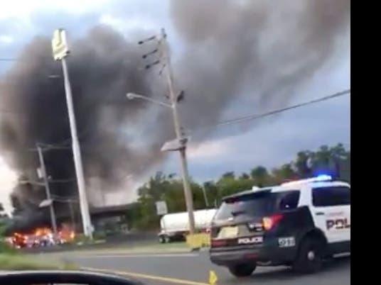 Fatal Crash, Fire On NJ Turnpike Near Woodbridge: Police