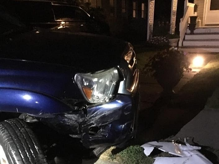 Family: Car Came Flying Down Point Beach Street – And Crashed