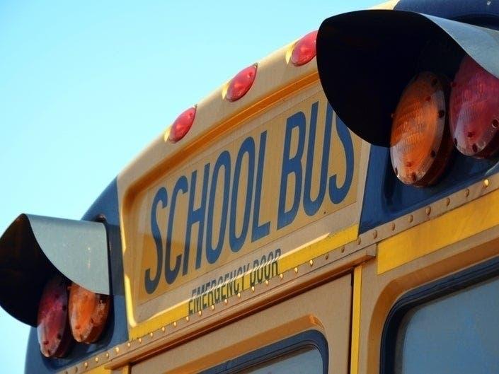 School Bus Driver Uses Sidewalk To Avoid Ocean County Traffic Jam