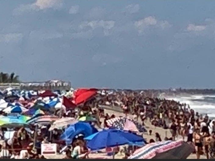 Photos Of NJ Beach Crowds Draw Ire (Even From Peter Frampton): PM