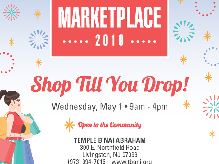The Annual Spring Marketplace at Bnai Abraham