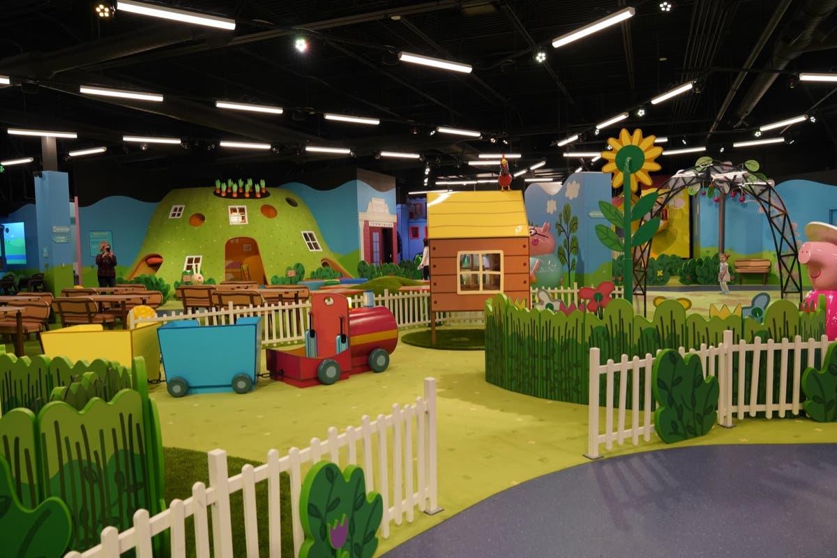 Peppa Pig World Of Play Indoor Attraction Open In Auburn Hills