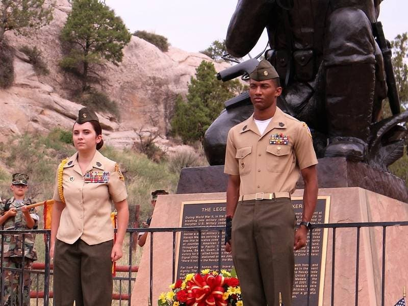 Temecula Valley Young Marines Honor Navajo Code Talkers