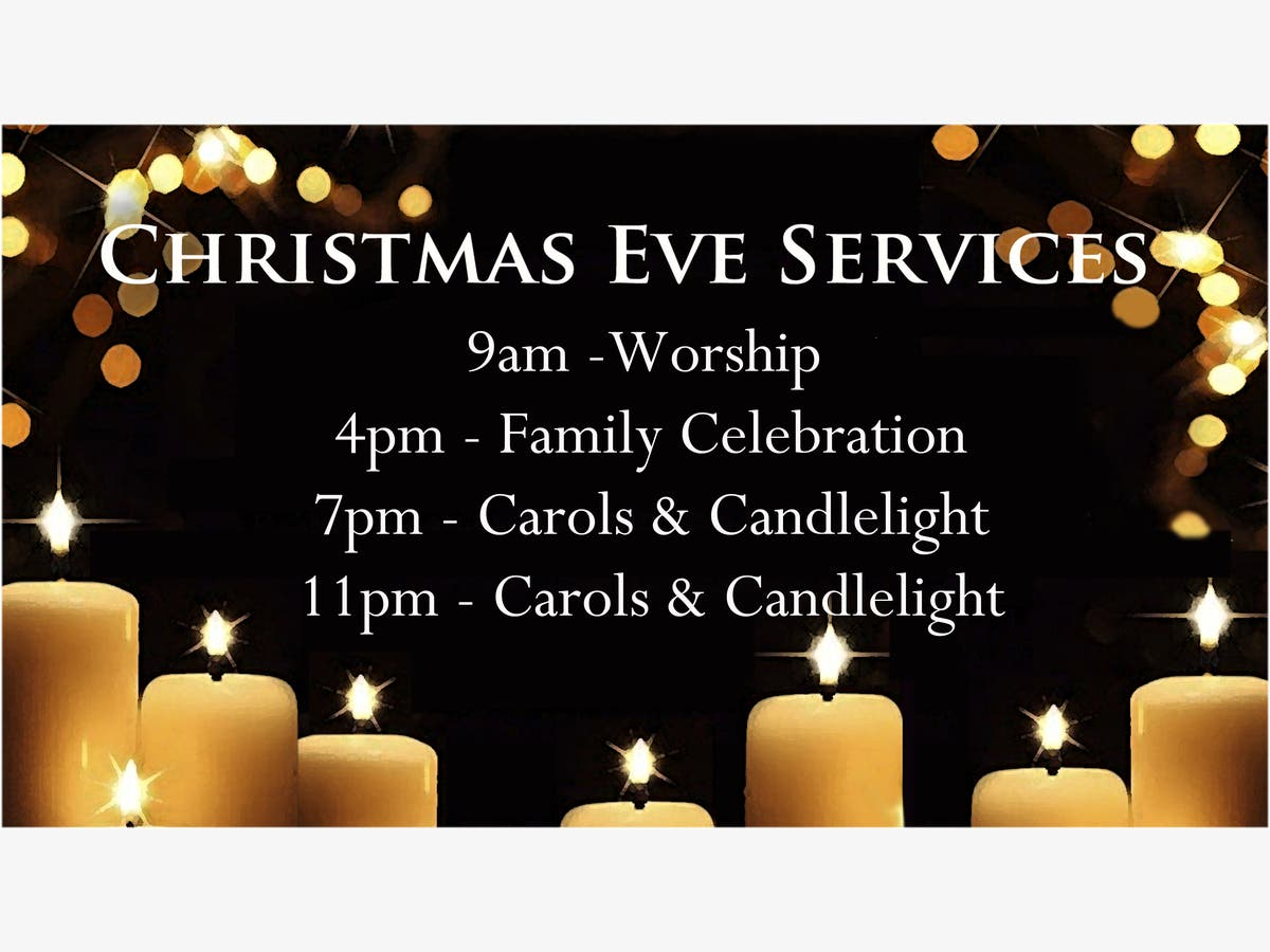 Christmas Day December 25th 2020 Church Service Aurora Il Christmas Eve Services at Batavia United Methodist Church