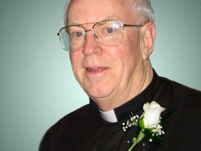 Visitation Vigil Service For Monsignor James K Vaughey