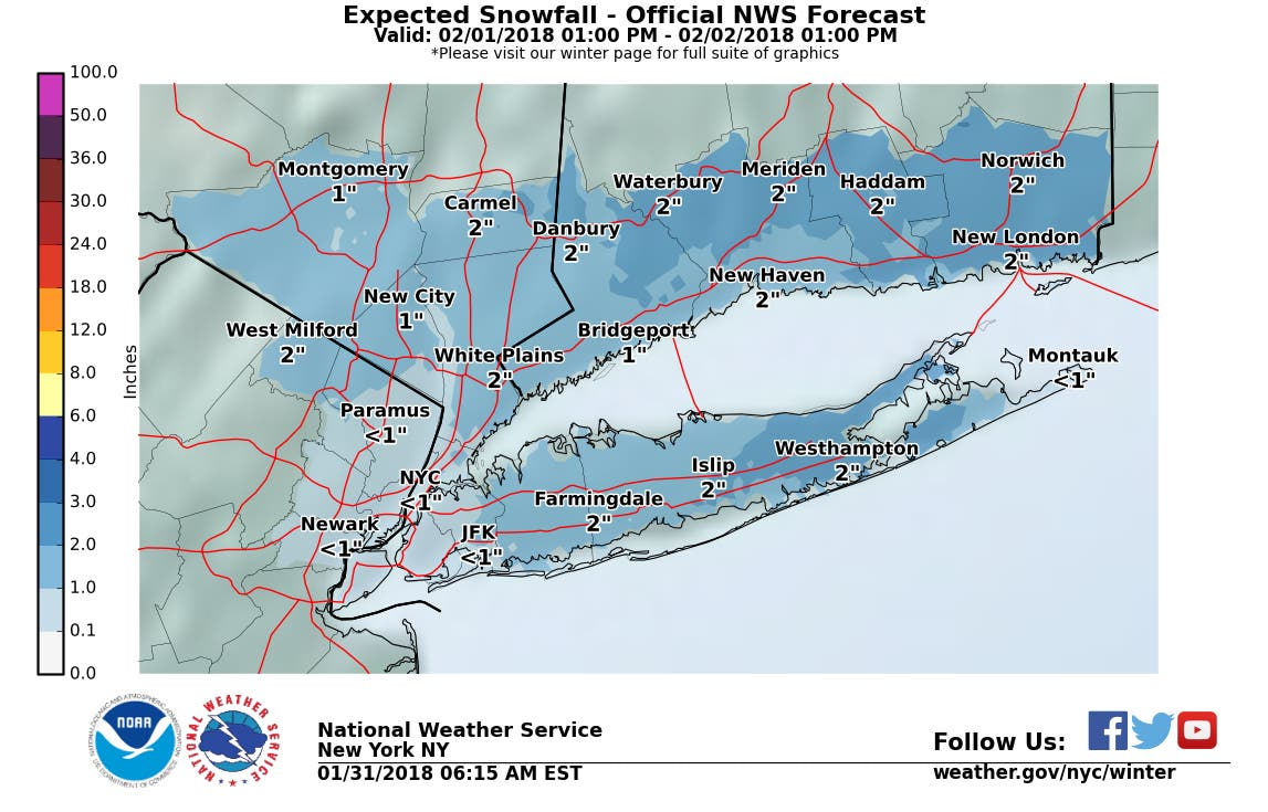 Hudson Valley Weather: More Snow Headed Our Way | Ossining