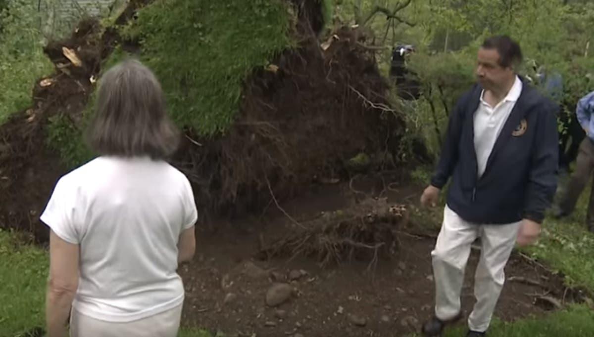 Ny Governor Tours Putnam Storm Damage Southeast Ny Patch