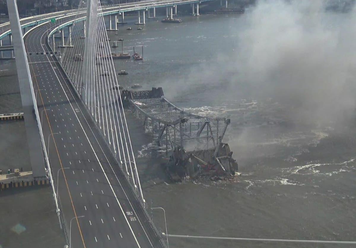 Done: Tappan Zee Bridge Demolition   Nyack, NY Patch