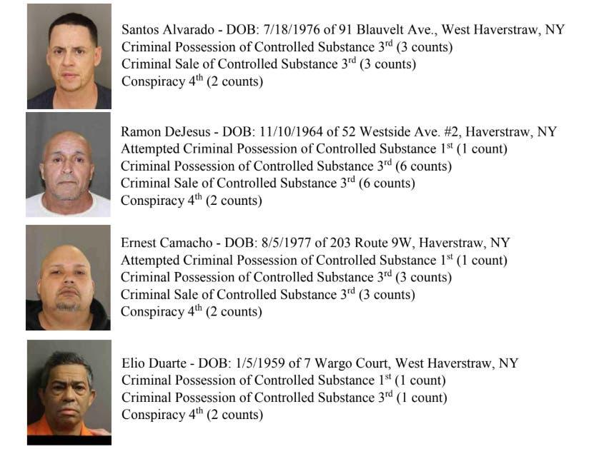 11 Arrests in Home-Based Heroin Ring: Rockland County DA