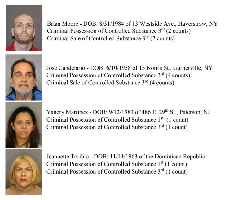 11 Arrests in Home-Based Heroin Ring: Rockland County DA | New City