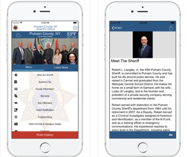 Putnam Sheriff: There's An App For That   Southeast, NY Patch