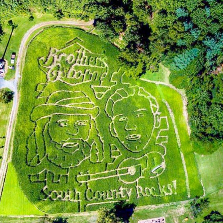 Brothers Osborne Corn Maze Wows At Greenstreet Gardens