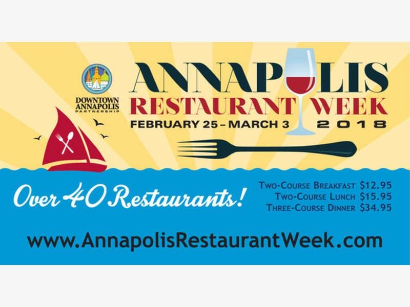 Annapolis Restaurant Week 2018 List Of Venues Through March 3
