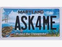New Chesapeake Bay License Plate Available To MD Drivers
