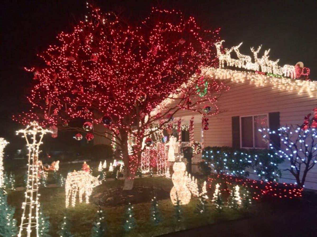 Christmas Bush Lights.Md Good News Safest City Best Christmas Lights Bush
