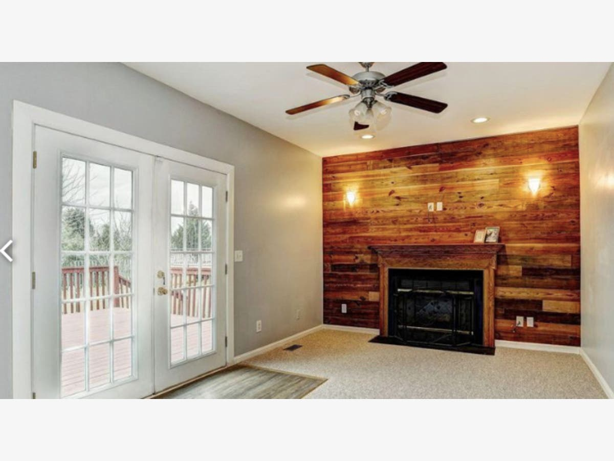 Look Inside 465k Buys Wood Accent Fireplace Wall New