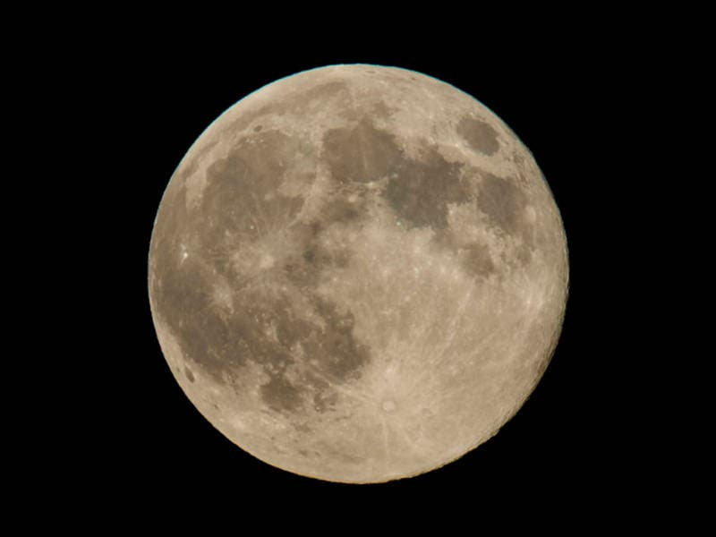 Tonights Super Worm Moon Marks Start Of Spring In Georgia