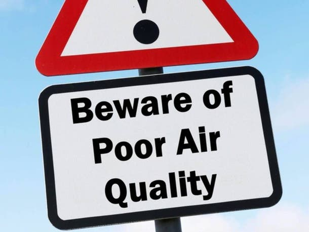 Three DC area communities received low marks for air quality from the American Lung Association.