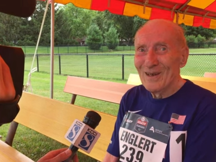Speedy 96-Year-Old Sets World Record For 5K   Patch PM